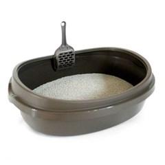 푸르미 고양이 화장실 대 - 뉴브라운 애완용품