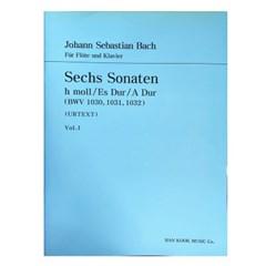 (전시상품) Sechs Sonaten h moll /Es Dur/A Dur