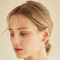 Pearl Covered Earring