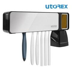 유토렉스 퍼펙트케어 태양광충전 무선 칫솔살균기 UTC-S58 UV-LED