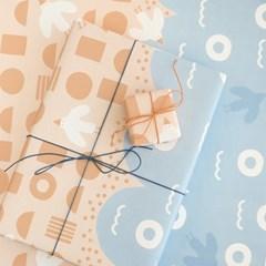 모리너 포장지 썸머비치 (8장)