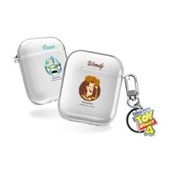 [T] 디즈니 토이스토리4 서클 에어팟1,2세대 클리어케이스