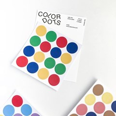 Color Dot sticker