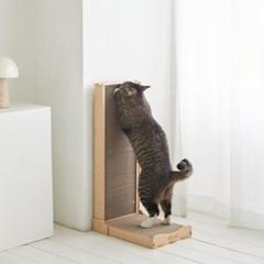 100% 국내제작! 친환경 고양이 리고스크래쳐 월형