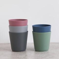파스텔 실리콘 다용도컵 2개세트(5color)_(1947295)