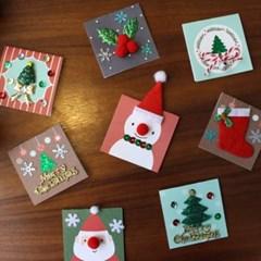 크리스마스 땅콩카드30set_(1313112)