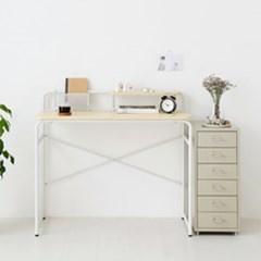 마켓비 OLLSON 책상 + FIHA 서랍장 6단 + MAKA 에펠의자