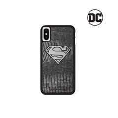 DC 슈퍼맨 가죽스틸 블랙에디션 케이스