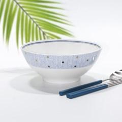 한국도자기 본차이나 므아레 면기 1p 큰그릇 18cm