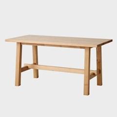 한샘 그로브 원목 1.6M 식탁 (의자미포함)