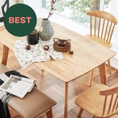 한샘 포레 원목 4인 식탁 벤치세트(벤치1,의자2 포함), DIY