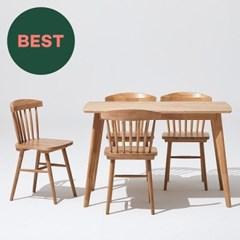 한샘 포레 원목 4인 식탁세트(의자4 포함), DIY