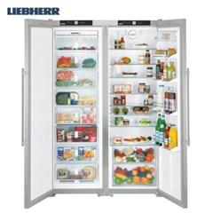 리페르 독일 프리미엄 스테인리스 냉동고 + 냉장고 세트 SBSES7252