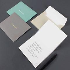 시를 담아 보냅니다, 문학 카드(엽서카드+봉투세트)