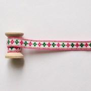 미니꽃금박리본 90cm_(1313915)