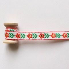 장미꽃금박리본 90cm_(1313914)