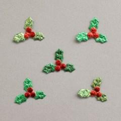 미니빨간열매침엽수잎 30p_(1313945)