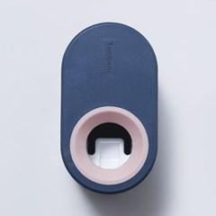 컬러풀 치약디스펜서 자동치약짜개 욕실용품 간편부착
