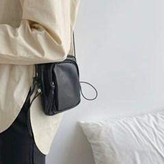 포켓 가방 미니 크로스백 힙색 스트링백