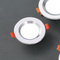 LED 매입등 실버레인 5W 다운라이트 타공사이즈 Ø75_(1896062)