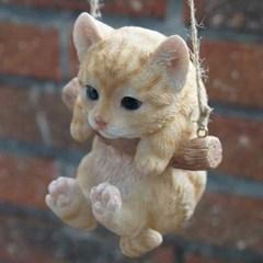 스윙 고양이 미니어처(2type)_(1958622)
