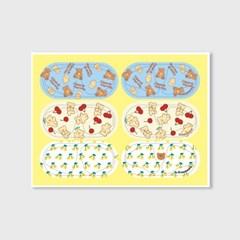 Earpearp air pods sticker pack-lemon