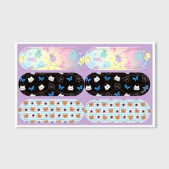 Earpearp air pods pro sticker pack-purple_(1619536)