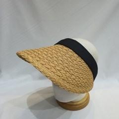 명품 연예인 기본 패션 밀짚 라탄 챙넓은 썬캡 모자