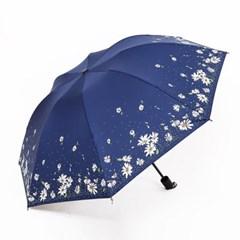 랑데 휴대용 미니 자외선차단 플라워 데이지 우산_(2438972)