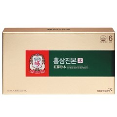 [정관장] 홍삼진본 40mlx30포 (30일분)_(1179665)