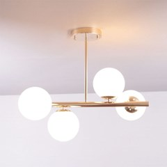 boaz 잭팟4등 식탁등 LED 카페 홈 인테리어 조명