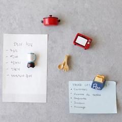 주방용품 세트 5종 자석 (MA0009)