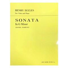 HENRY ECCLES SONATA In G Minor (DANIEL MARIUSE)