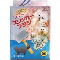 도기프렌드 슬리커 브러쉬 S 강아지 고양이 미용 빗