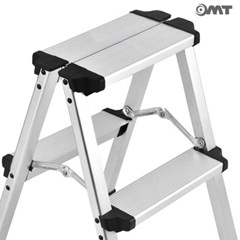 OMT 작업용/가정용 접이식 A형 사다리 2단 50cm 스텝스툴
