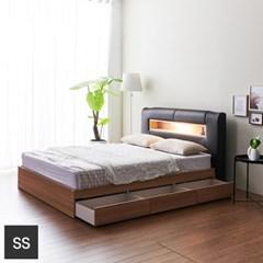 가구데코 케이트 LED 3서랍 슈퍼싱글 침대프레임 FO2094