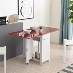 2인용테이블 접이식식탁 홈카페 식탁 접이식테이블