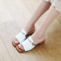 kami et muse Cubic ball strap middle heel slippers_KM20s249