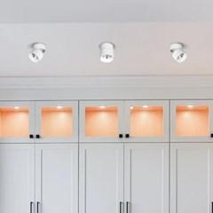 LED 직부등 이중회전 원통 COB 7W 15W 카페 매장조명_(1896993)