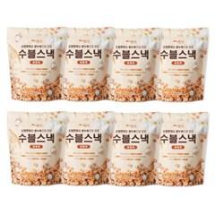 수블수블 도담현미로 만든 쌀과자 수블스낵 순수한맛/양파맛 40g 8봉