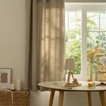 들꽃자수 창문 암막커튼