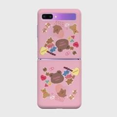 bear sticker pack Z플립 하드케이스_(938686)
