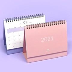 핑크풋 봉주르 2021 탁상 캘린더