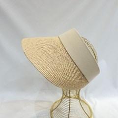 자외선차단 여름 바캉스 패션 라피아 라탄 썬캡 모자