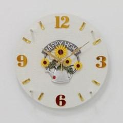 (khyn009)저소음 해피홈 가죽디자인 시계_(907439)