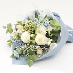 블루 옥시 꽃다발 (생화, 전국택배)