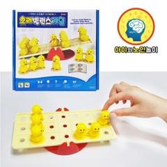 오리 밸런스게임/균형잡기게임/두뇌개발/사고력향상/어린이보드게임