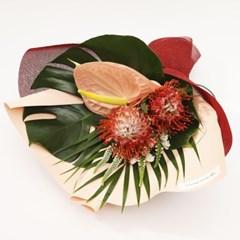 핀쿠션 트로피컬 꽃다발