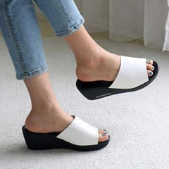 kami et muse 6cm wedge platform mule slippers_KM20s254