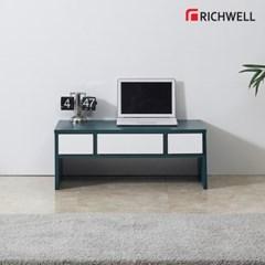 리치웰 포인트 1단 3칸 서랍 거실테이블 800